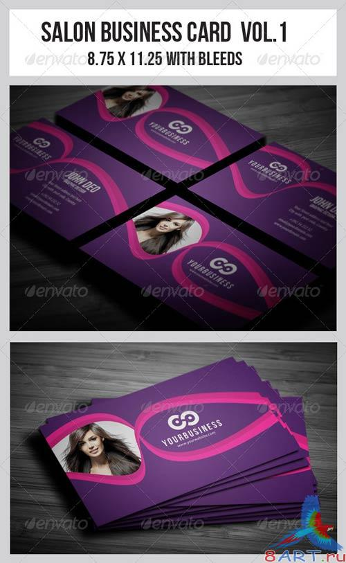 GraphicRiver Salon Business Card Vol.1