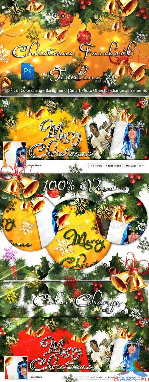 GraphicRiver Christmas FB Timeline