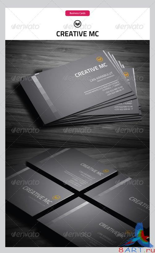 GraphicRiver Corporate Business Cards 126