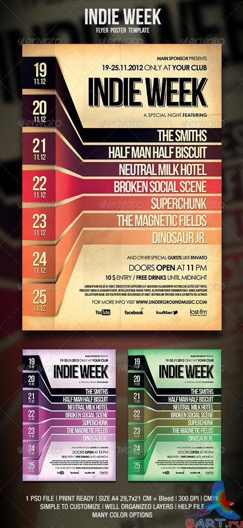 GraphicRiver Indie Flyer / Poster