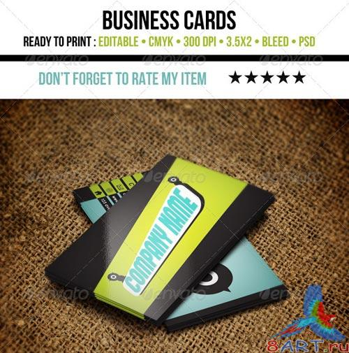 GraphicRiver Cool Business Cards