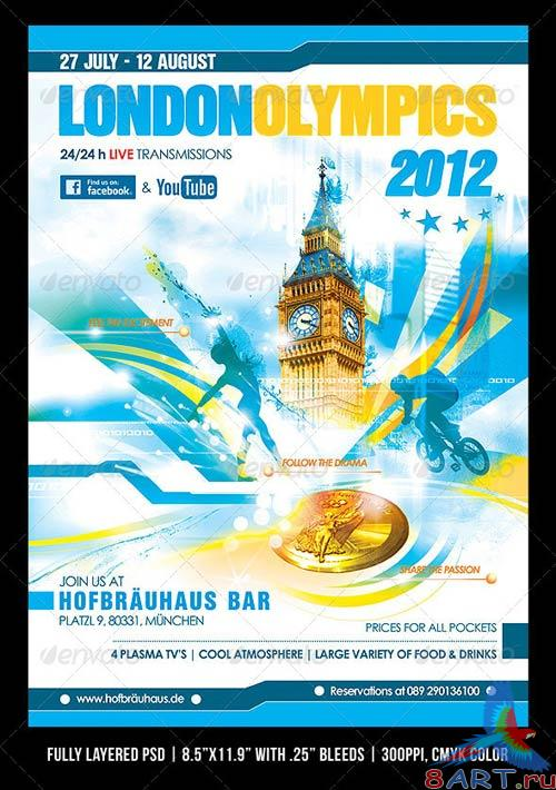 GraphicRiver London 2012 Olympics Poster/Flyer