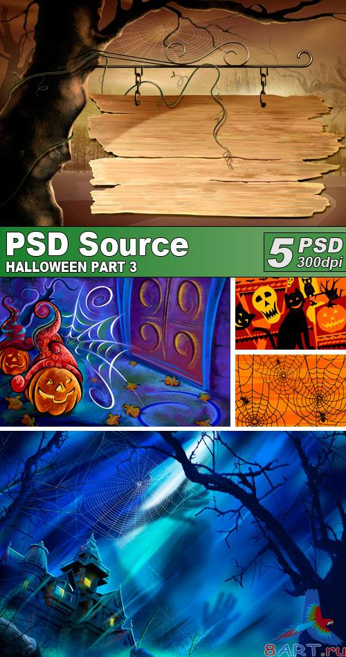 PSD Illustrations - Halloween 3