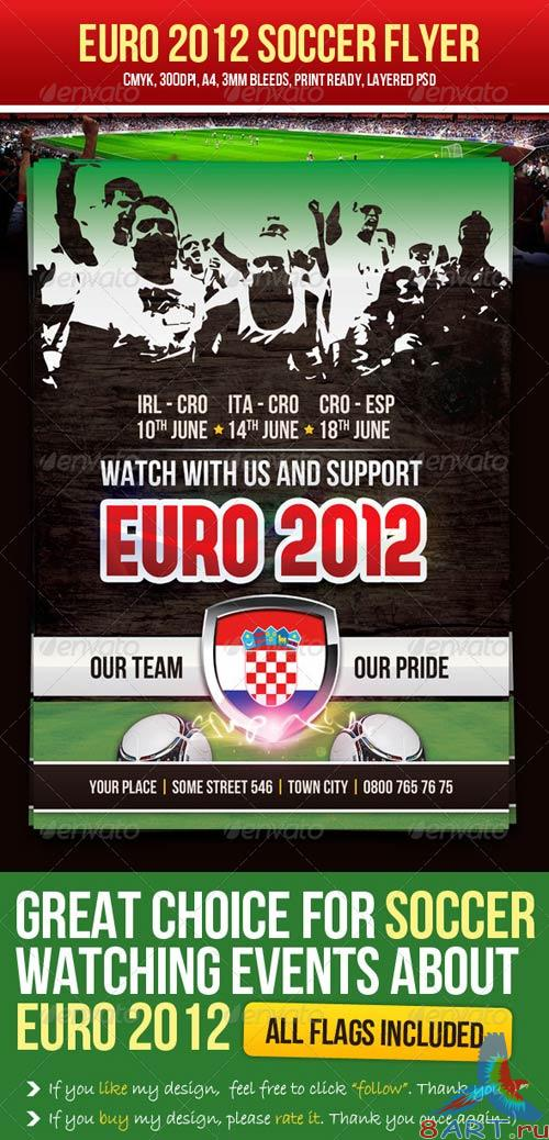 GraphicRiver Euro 2012 Soccer Flyer