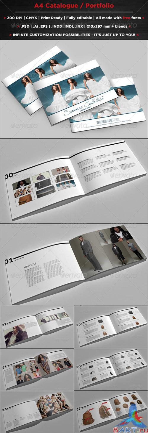 A4 Catalogue and Portfolio - GraphicRiver