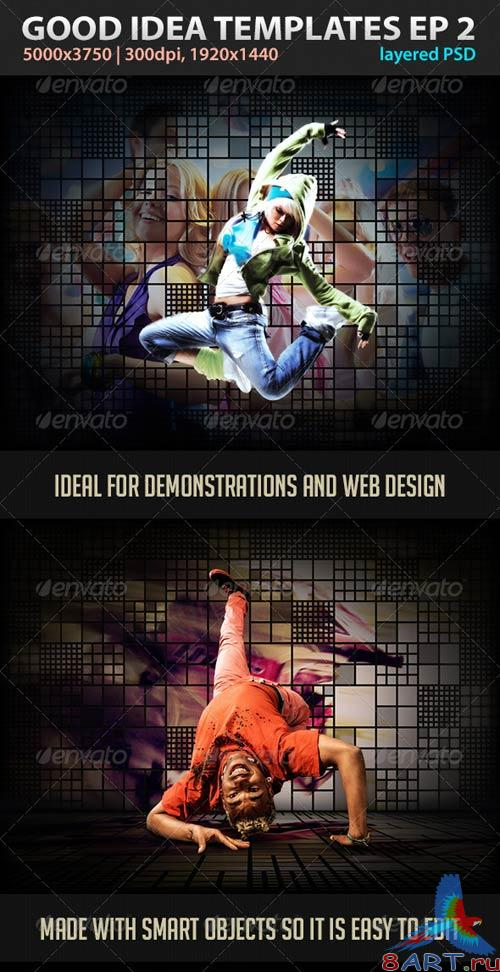 GraphicRiver Good Idea Templates Episode 2