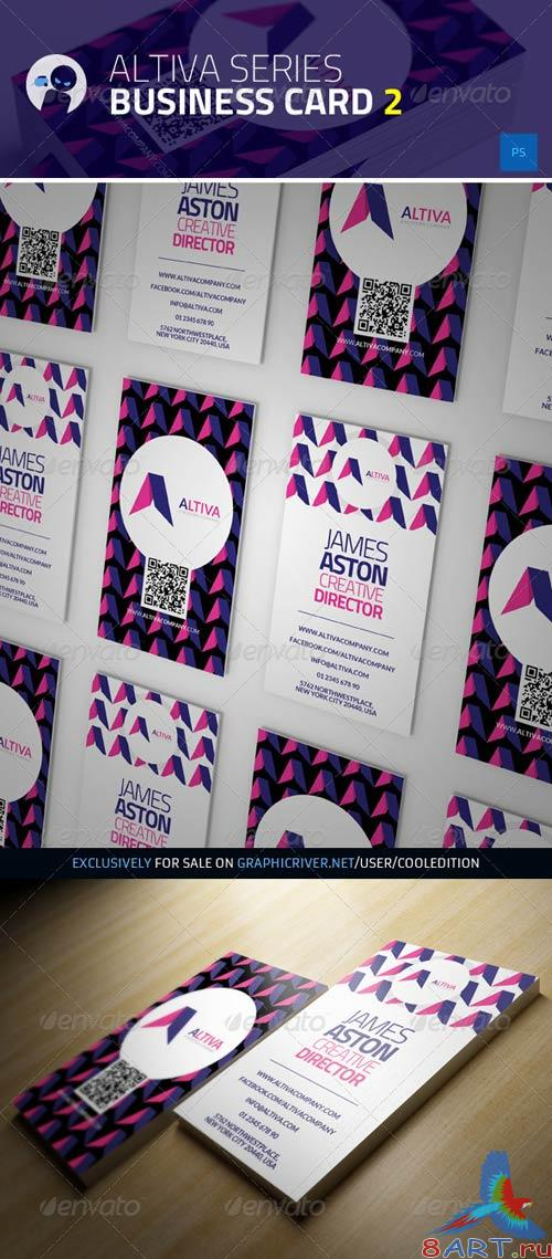 GraphicRiver Altiva Series - Business Card 2
