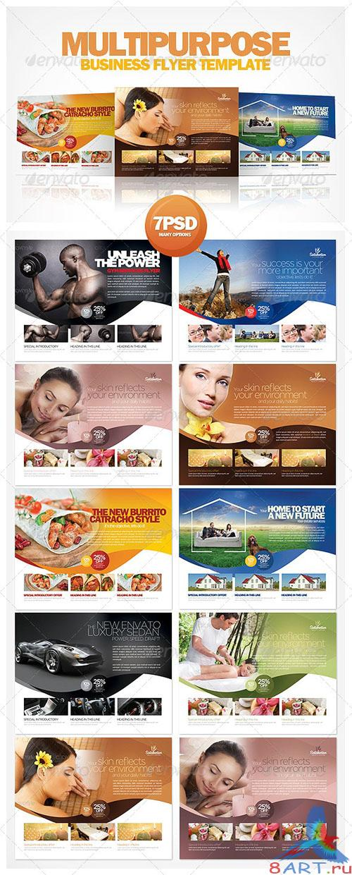 GraphicRiver - Multipurpose Business Flyer Template 2327177