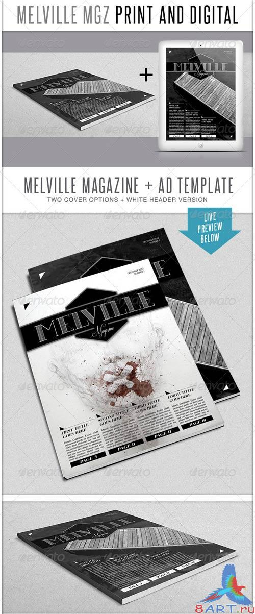 GraphicRiver Melville MGZ Bundle
