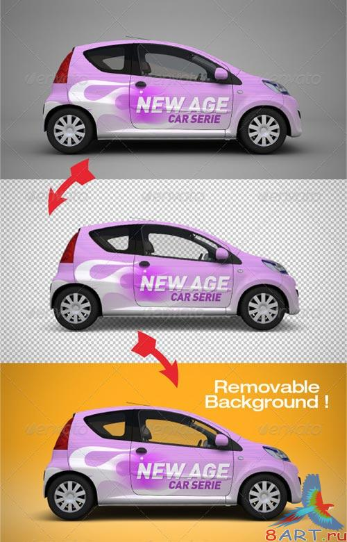 GraphicRiver Mock-up for Car Branding 2