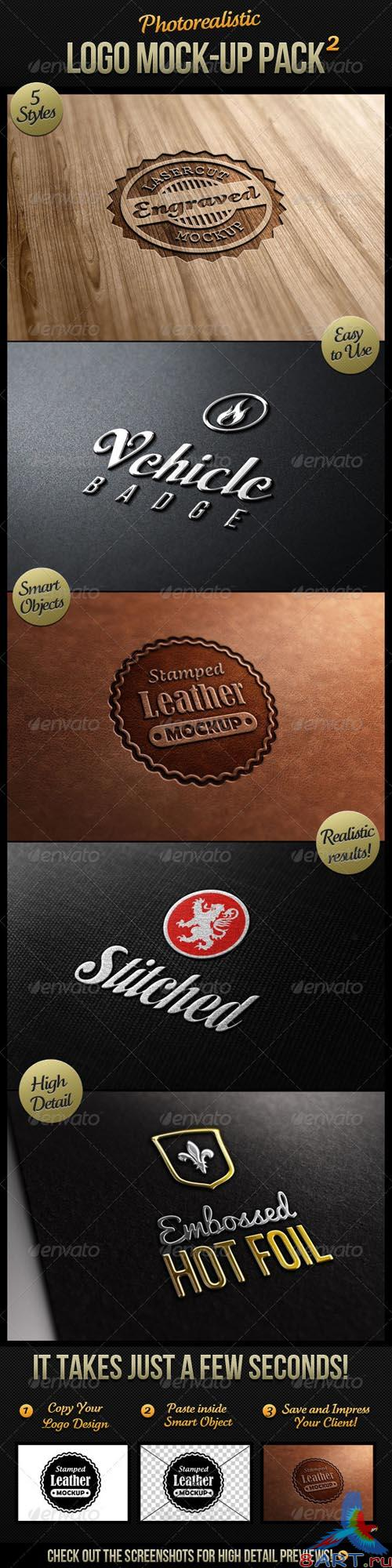 GraphicRiver Photorealistic Logo Mock-Up Pack 2 - REUPLOAD