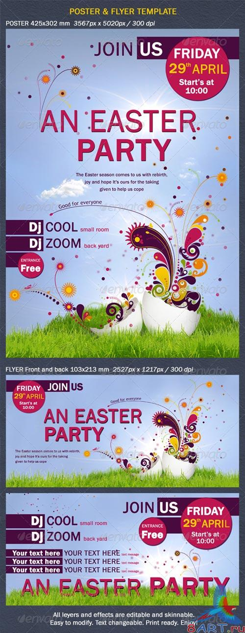 GraphicRiver Poster and Flyer Two Sides - REUPLOAD