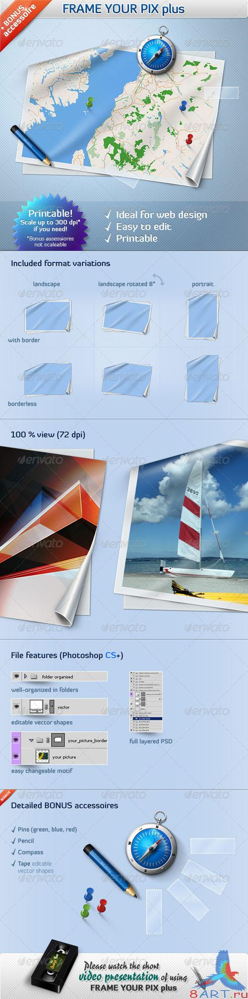 GraphicRiver Frame Your Pictures +