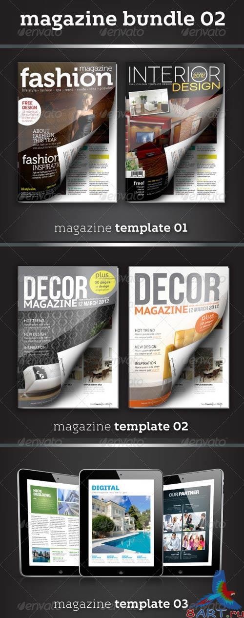 GraphicRiver Magazine Bundle 02