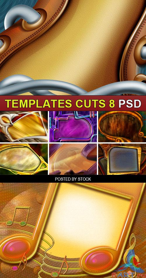 PSD Source - Templates cuts 8