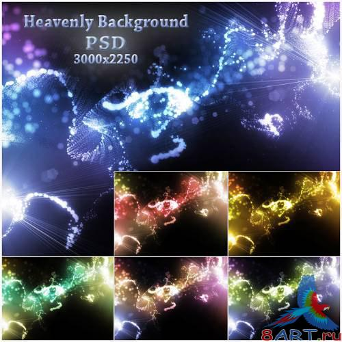 Heavenly Background PSD