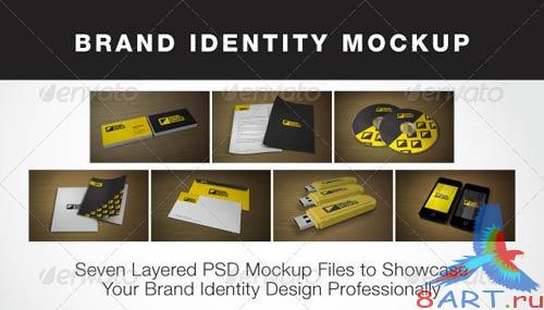 GraphicRiver Brand Identity Mock-up