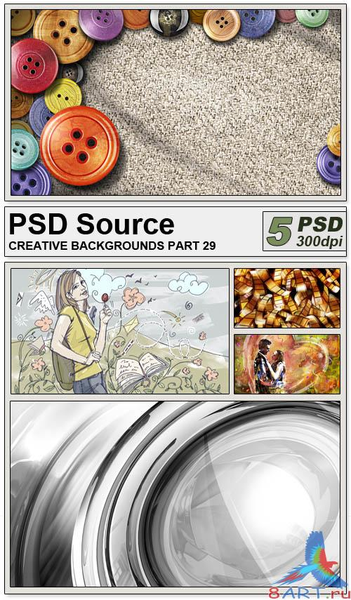 PSD Source - Creative backgrounds 29