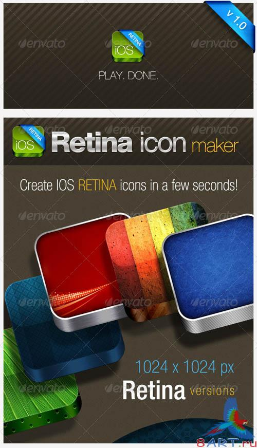 GraphicRiver IOS Retina Icon Maker