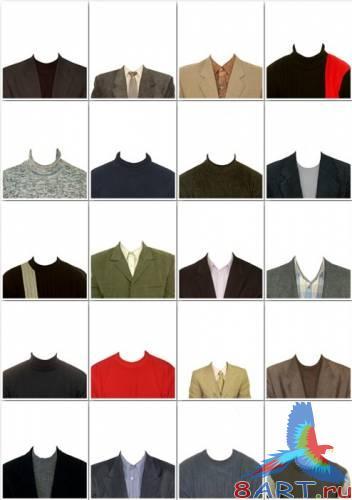 Шаблон рубашки для фотошопа