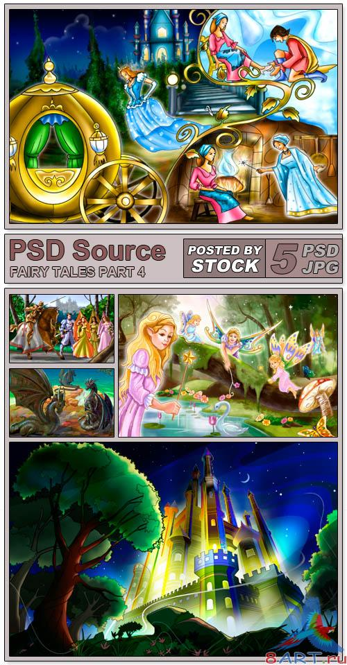 PSD Source - Fairy Tales 4