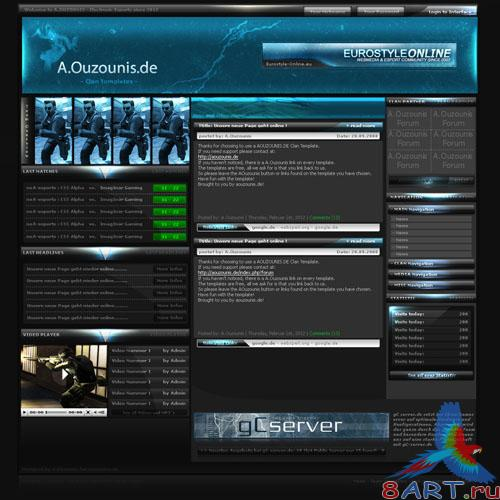 PSD Template - EASports Multigaming