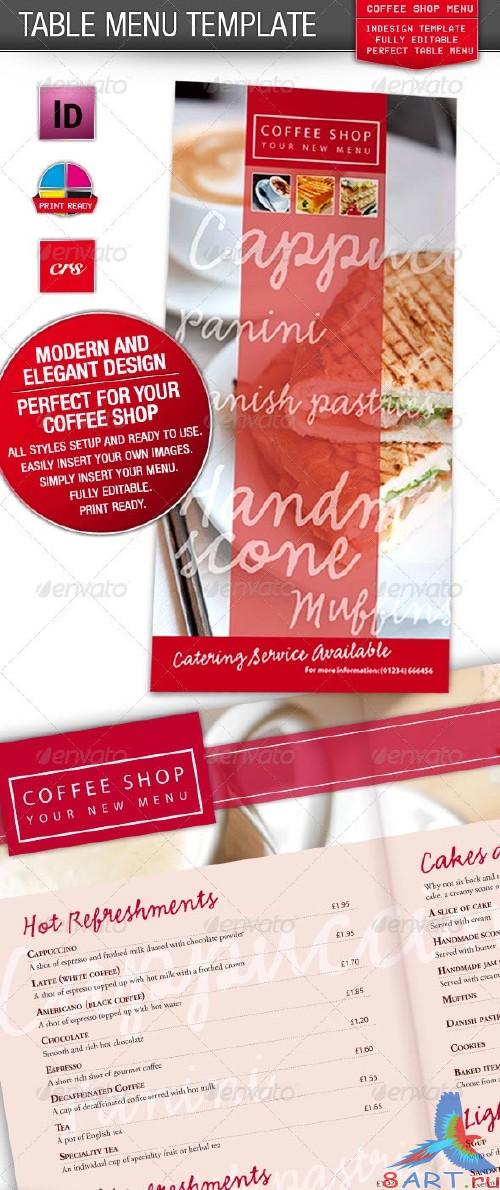 GraphicRiver Cafe, Coffee Shop / Restaurant Menu