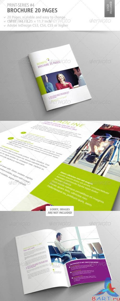 GraphicRiver Brochure 20 Pages Print-Series #4