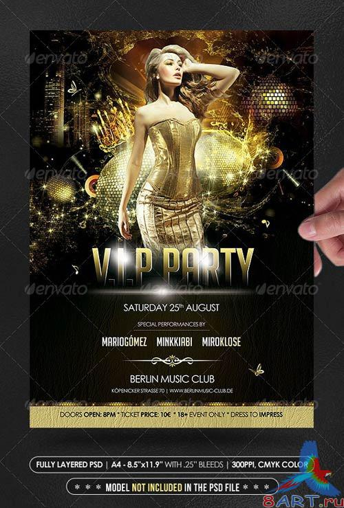 GraphicRiver V.I.P Party Poster/Flyer