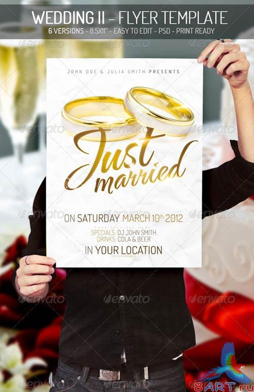 GraphicRiver Wedding II - Flyer Template