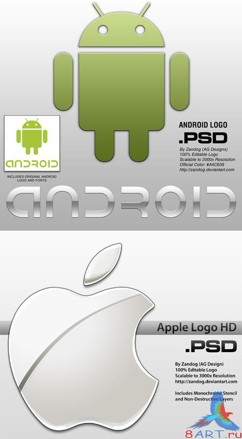 Logo Android & Apple