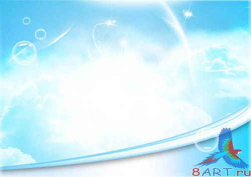 PSD - Bright Skies Template