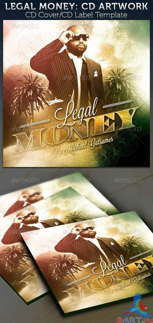 GraphicRiver Legal Money CD Cover Artwork Template