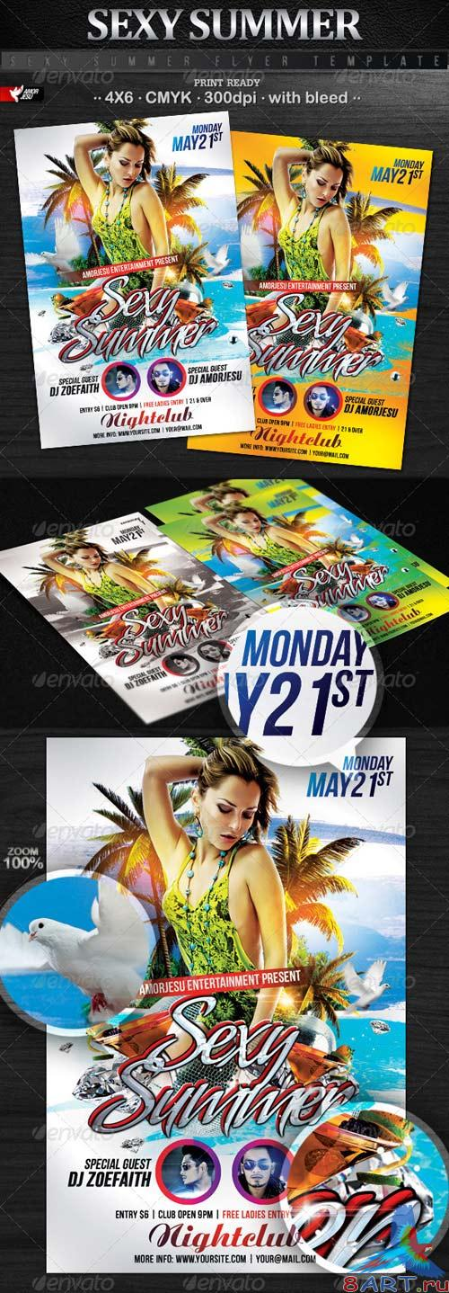 GraphicRiver Sexy Summer Flyer Template