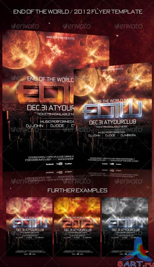 GraphicRiver EOTW / 2012 New Years Flyer Template