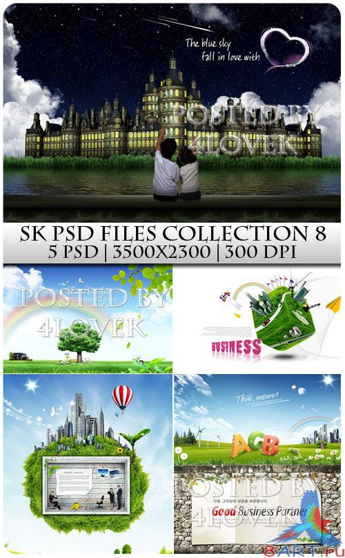 SK PSD files Collection 8