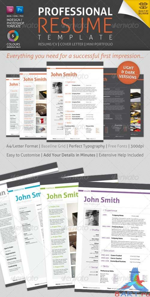 GraphicRiver Professional Resume/CV