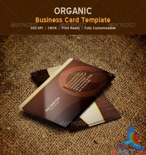GraphicRiver Organic Nature Business Card Template