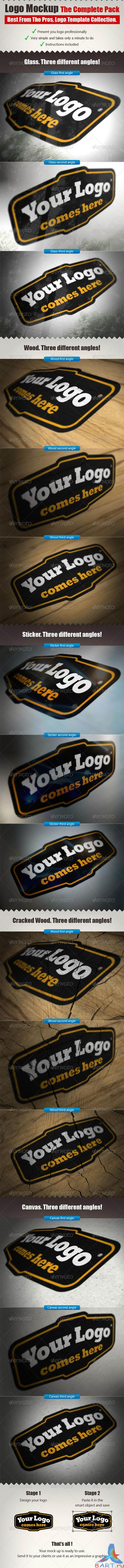 GraphicRiver - The Complete Logo Mock Ups Pack 536770