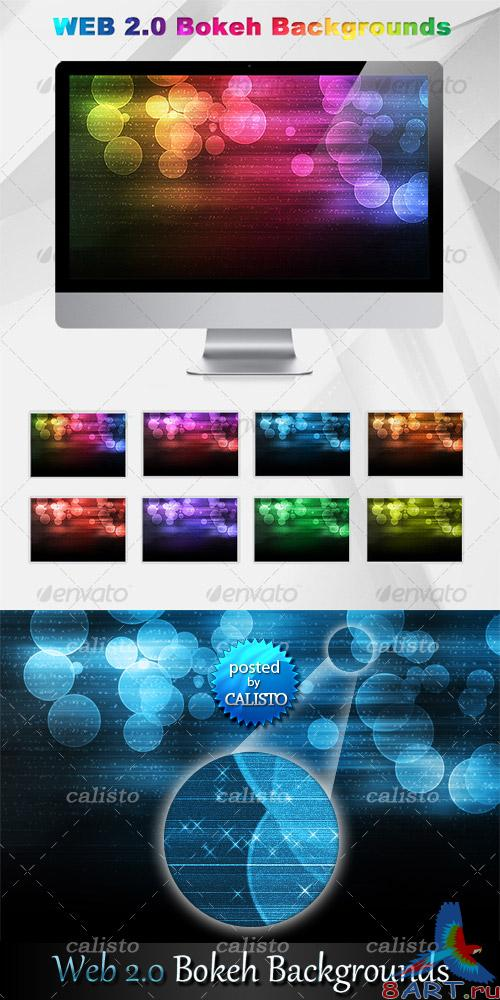 GraphicRiver - Web 2.0 Bokeh Background