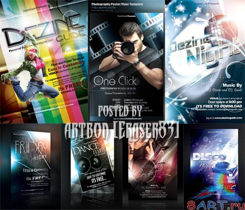 Flyer Poster Templates Bundle by DezineGuide - REUPLOAD