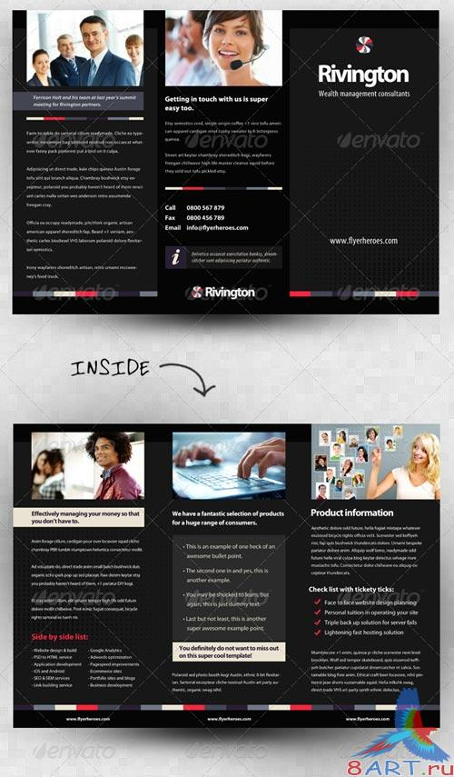GraphicRiver Rivington Three Fold Business Brochure