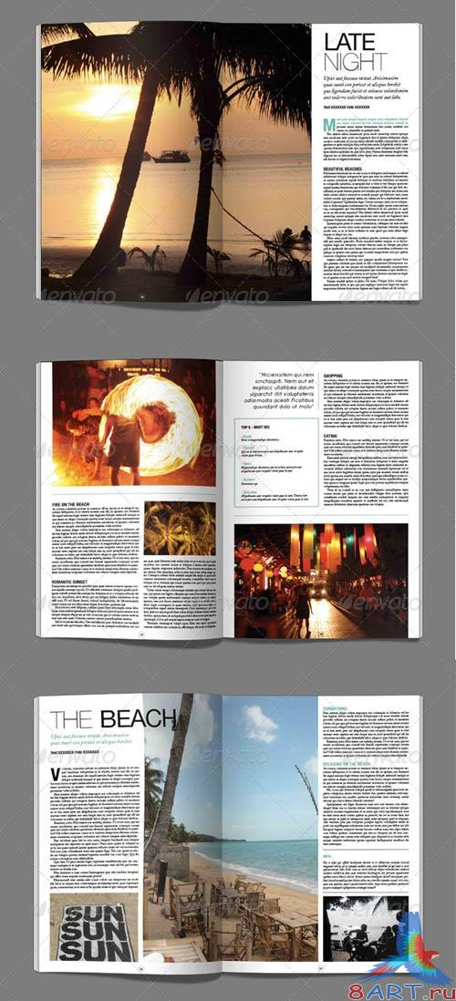 GraphicRiver Blue Monkey Media - Magazine Template