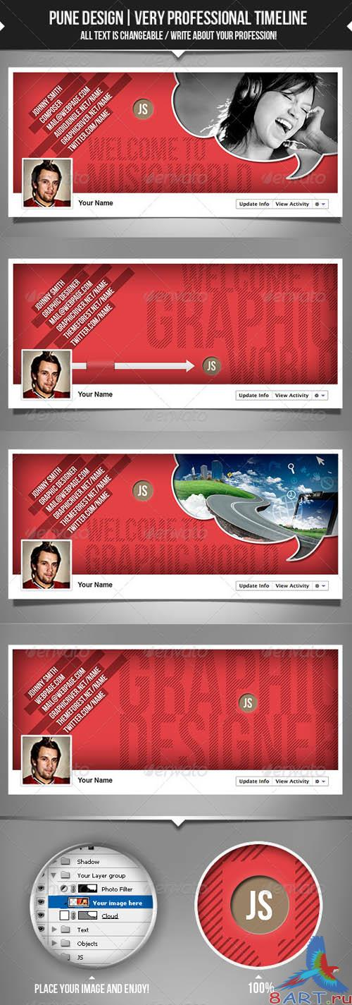GraphicRiver Very Professional - Facebook Timeline Covers