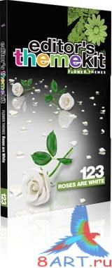 Editor's Themekit 123: Roses are White