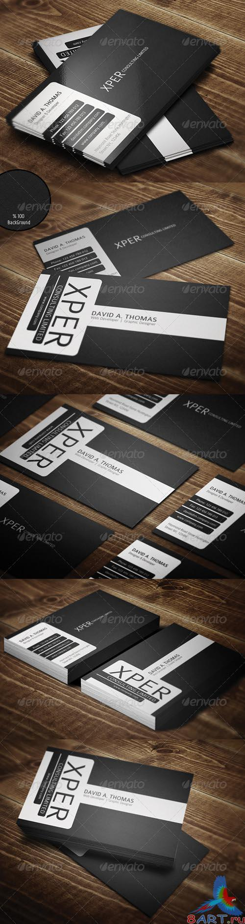 GraphicRiver Personal Business Card - REUPLOAD