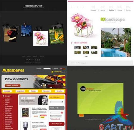 Collection of Templates for Websites