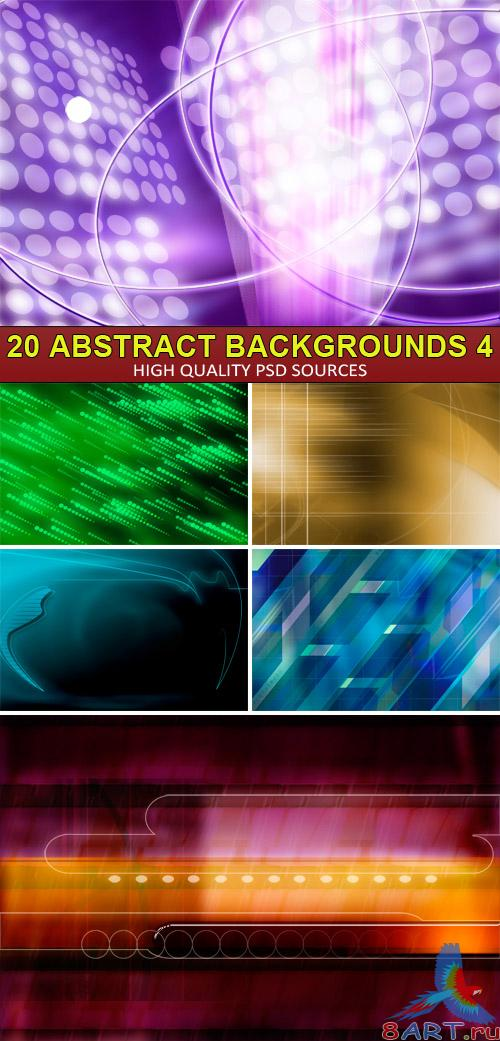 PSD Sources - 20 Abstract backgrounds 4