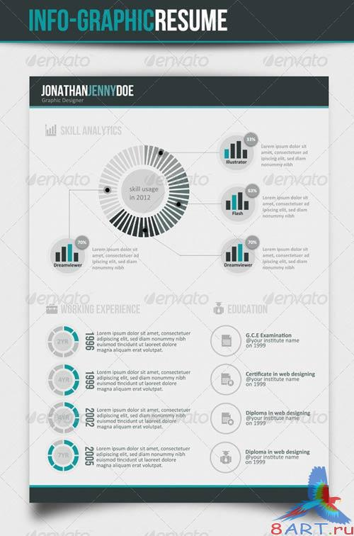 GraphicRiver Info graphic CV