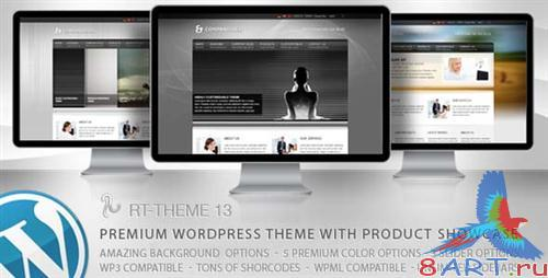 ThemeForest - RT-Theme 13 v1.0.4 - WP Theme